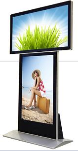 液晶多媒体双屏广告机