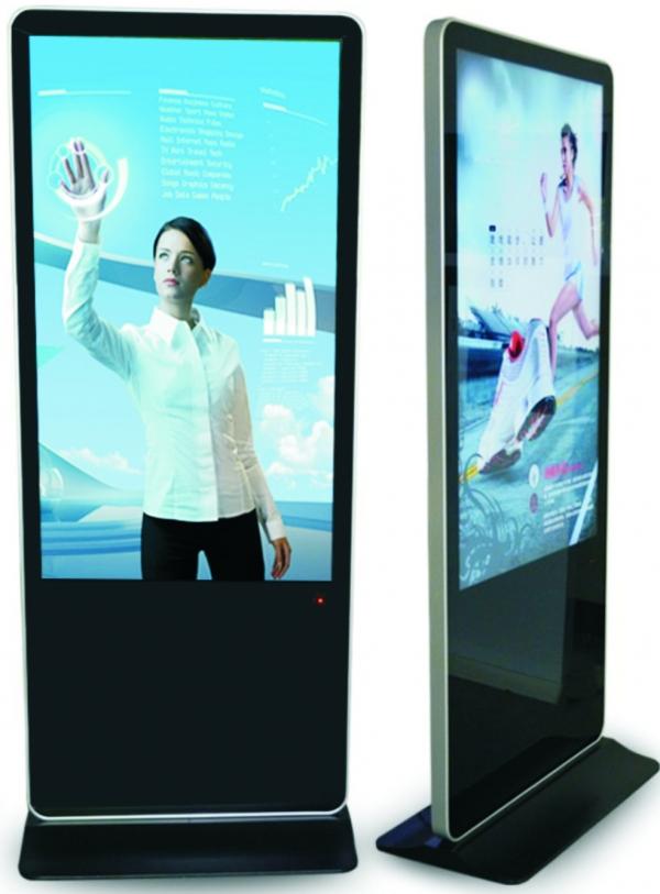 多媒体互动液晶广告机